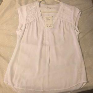 DR 2 sheer white blouse